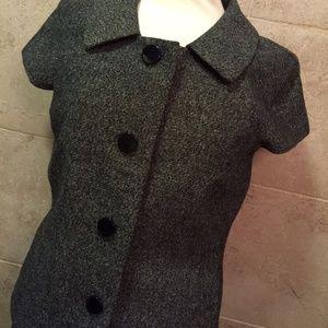 BANANA REPUBLIC Gray 4 Button Blazer